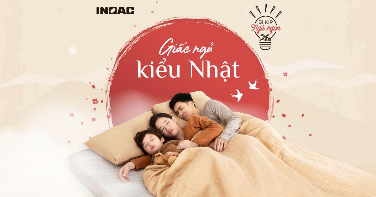 Tìm hiểu về giấc ngủ kiểu Nhật